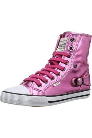 Esprit Benny Metal Hi 024EKKW029, Mädchen Sneaker, Pink (sea rose 693)