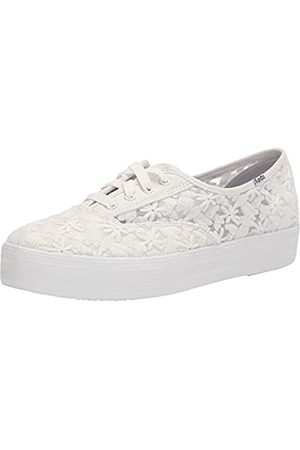 Keds Damen Triple CVO FLORAL Embroidery Sneaker