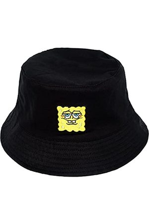 Concept One Damen Nickelodeon's Spongebob Squarepants Cotton Reversible Solid and Patterned Expressions Bucket Hat Schlapphut, /