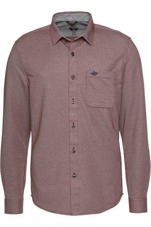 Dockers Langarmhemd, mit Stickerei auf der Brusttasche