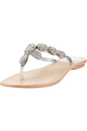 Coral Blue Fashion CBF CWR009, Damen Sandalen/Fashion-Sandalen, (Silver)