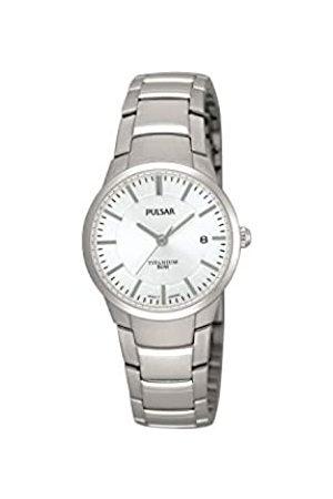 Pulsar Quarz Damen-Uhr Titan mit Metallband PH7129X1
