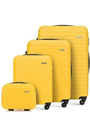 WITTCHEN Koffer-Set 4tlg. Reisekoffer | | 77x29x52 | Kapazität: 195L | Gewicht: 11