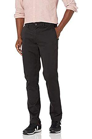 Goodthreads Amazon-Marke: Herren-Chinohose, sportliche Passform, gewaschen, bequem, Stretch, Black