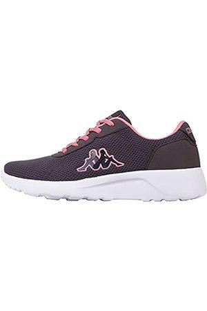 Kappa Damen Tunes W Sneaker, 1672 Grey/Flamingo