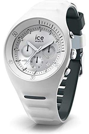 Ice-Watch P. Leclercq White - Weiße Herrenuhr mit Silikonarmband - Chrono - 014943 (Large)