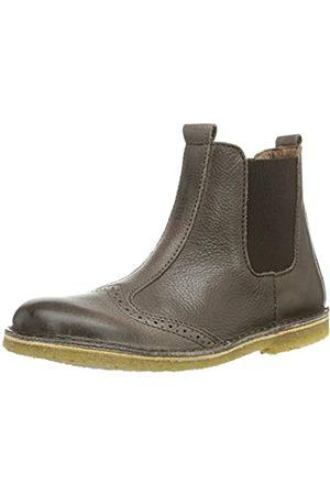 Bisgaard Unisex-Kinder Stiefel mit Lederfutter Chelsea Boots, (60 Brown)