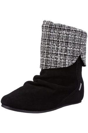 Etnies Damen Stiefeletten - Dakota W's 4201000265, Damen Fashion Halbstiefel & Stiefeletten, (Black/Black/Silver 542)