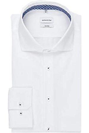 Seidensticker Herren Strukturiertes Hemd mit hohem Tragekomfort und Kent-Kragen – Passform Shaped Fit – Langarm – 100% Baumwolle Businesshemd