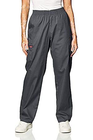 Dickies Damen-Skrubs-Hose mit elastischer Taille - grau - Groß