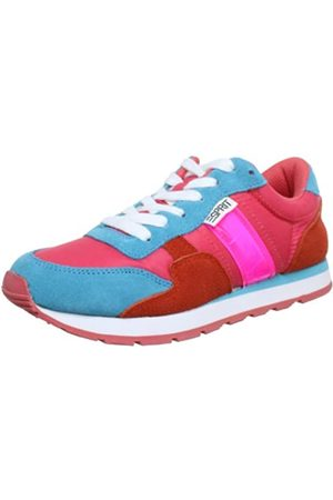 Esprit Kivu Lace Up P12764, Mädchen Sneaker, Pink (bubble gum pink 694)
