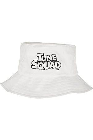 Mister Tee Space Jam Unisex Bucket Hat Tune Squad Fischerhut mit Logo Stick in Schwarz