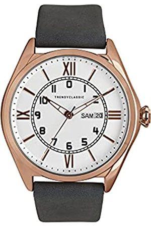 TRENDY CLASSIC Für Herren Analog Quarz Uhr mit Leder Armband CG1057-03