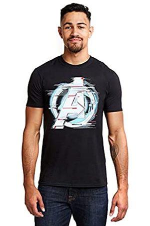 Marvel Herren Quantum Logo T-Shirt