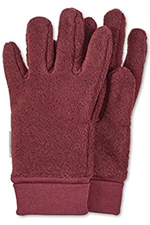 Sterntaler Jungen Handschuhe - Fleece-Fingerhandschuhe mit elastischem Umschlag, Alter: 2-3 Jahre, Größe: 2