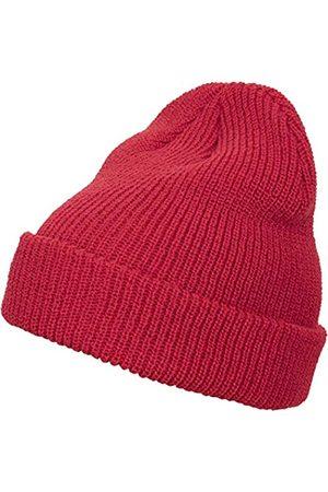 Flexfit Uni Long Knit Beanie Cap, red