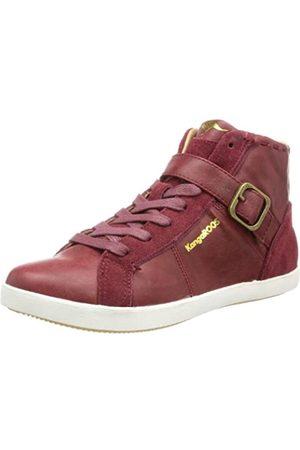 KangaROOS Cheyenne 3492A Damen Sneaker, (Burgundy 680)