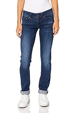 G-Star Damen Straight - Damen Midge Saddle Straight Jeans Mid Waist Straight