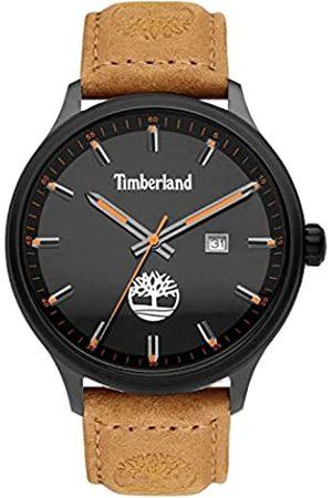 Timberland Herren Analog Quarz Uhr mit Leder Armband TDWGB2102201