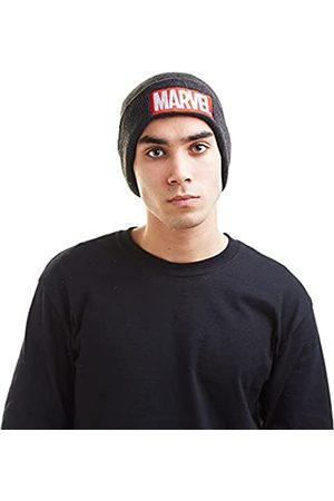 Marvel Herren Strickmütze Logo-Beanie Hat
