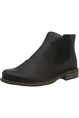 Rieker Damen Stiefeletten Z4994, Frauen Chelsea Boots, Schlupfstiefel gefüttert Winterstiefeletten Frauen weibliche/