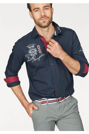 TOM TAILOR Langarmhemd, mit Stickerei