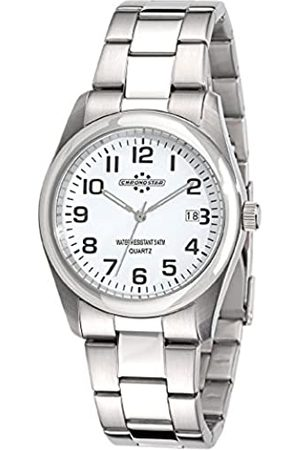 Chronostar Watches Herren-Armbanduhr Slim Analog Quarz Edelstahl R3753100002