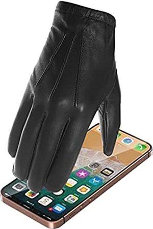 Harssidanzar Herren Handschuhe, dünn, ungefüttert, Leder, für Polizei