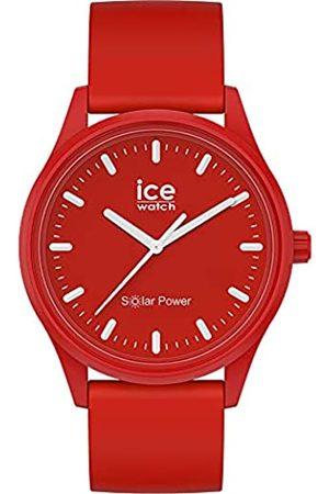 Ice-Watch ICE solar power Red sea -e Herren/Unisexuhr mit Silikonarmband - 017765 (Medium)