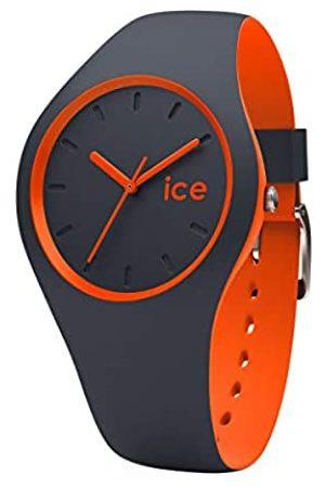 Ice-Watch ICE duo Ombre orange - Blaue Herrenuhr mit Silikonarmband - 001494 (Medium)