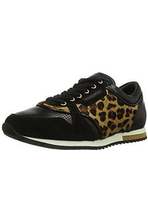 Michalsky Damen Urban Nomad Runner Sneakers, (Leo Black 0200)