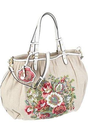 Fornarina Bags HILARY B603I602, Damen, Shopper, Elfenbein (BONE), 47,5x21