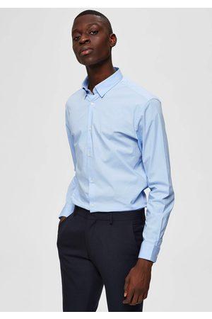 SELECTED Langarmhemd »SLIM MICHIGAN SHIRT«