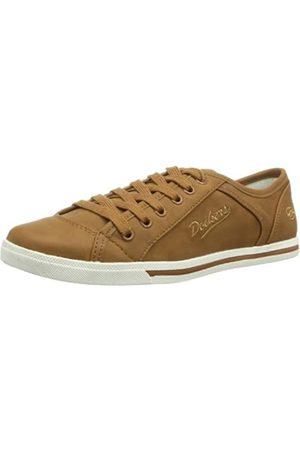 Dockers 346060-129017 Damen Sneaker, (tabac)