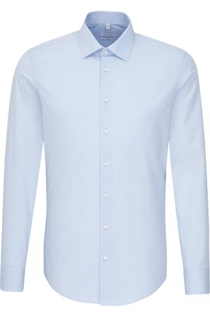Seidensticker Businesshemd »Slim«, Slim Langarm Kentkragen Uni