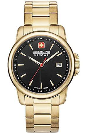 Swiss Military Hanowa SwissMilitaryHanowaUnisexErwachseneAnalogQuarzUhrmitEdelstahlArmband06-5230.7.02.007