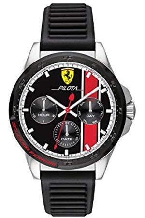 Scuderia Ferrari Herren Analog Quarz Uhr mit Silikon Armband 0830661