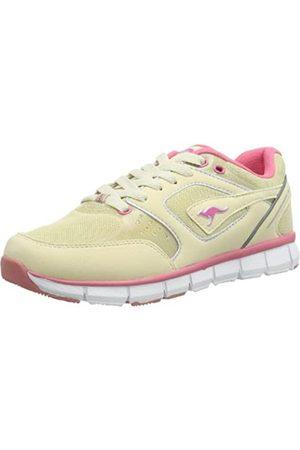 KangaROOS Neke 3274A Damen Sneaker, (lt Sand/Plastic pink/White 160)