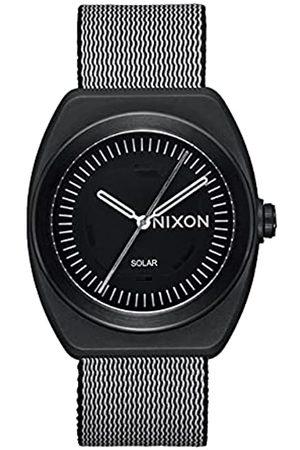 Nixon Herren Analog Quarz Uhr mit Kunststoff Armband A1322001-00