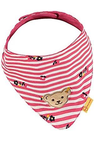 Steiff Baby-Mädchen mit süßer Teddybärapplikation Halstuch 2er Pack