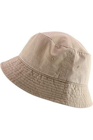 Armycrew Herren Hüte - Übergroße große große Herrenhut aus Baumwolle - Beige - XXL/3XL