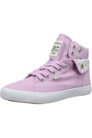 Esprit Conny Turn Up 024EKKW023, Unisex-Kinder Sneaker, Pink (rose quartz 666)