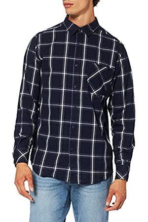 Urban classics Herren Basic Check Shirt Freizeithemd