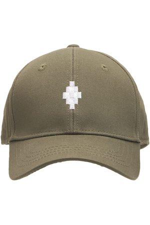 MARCELO BURLON Jungen Hüte - Baseballkappe Aus Baumwolle Mit Logo