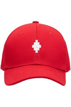 MARCELO BURLON Baseballkappe Aus Baumwolle Mit Logo