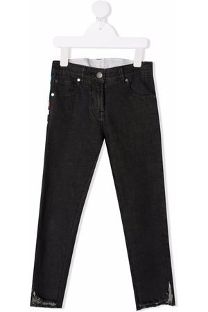 Stella McCartney Kids Jeans mit Logo-Streifen