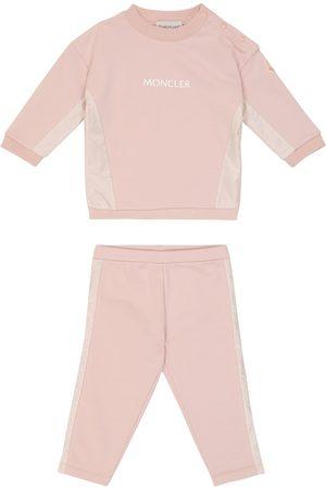 Moncler Baby Outfit Sets - Baby Set aus Sweatshirt und Hose