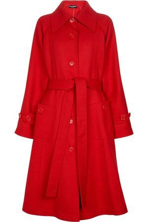 Dolce & Gabbana Damen Mäntel - Mantel aus Wolle
