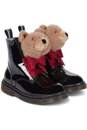 MONNALISA Verzierte Stiefel aus Lackleder