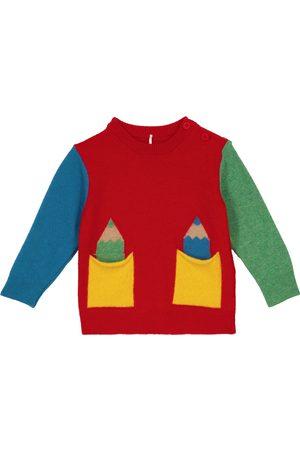 Stella McCartney Baby Strickpullover - Baby Pullover aus einem Wollgemisch